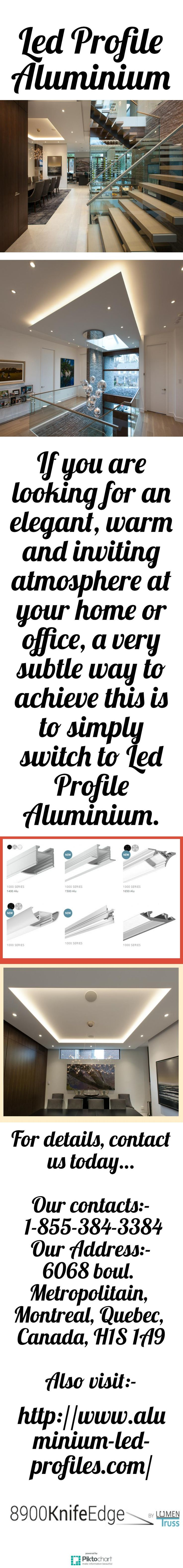 If you are looking to save money on electricity, the use of Led Profile Aluminium is another big win. These Led Profile Aluminium produce better and bright light than the traditional bulbs while using far less energy to do so. Visit link, for details.  http://www.aluminium-led-profiles.com/