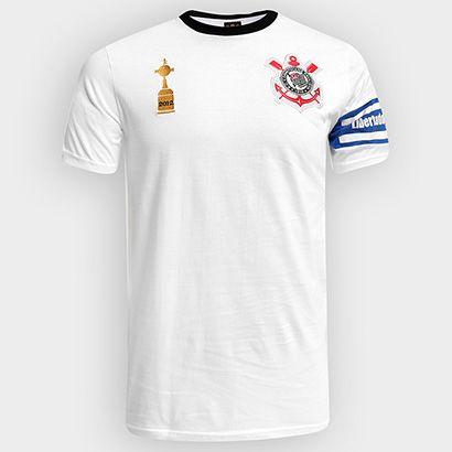 Acabei de visitar o produto Camiseta Corinthians Capitães Libertadores 2012 n° 2 Masculina
