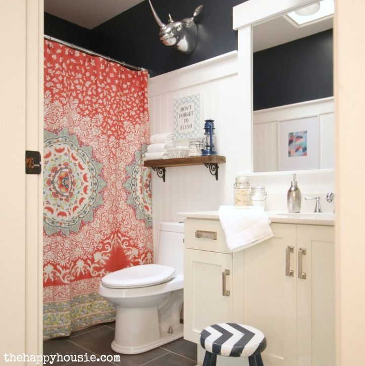1000+ Ideas About Coral Shower Curtains On Pinterest