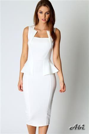 ABI MIDI dámské šaty, středně dlouhé šaty