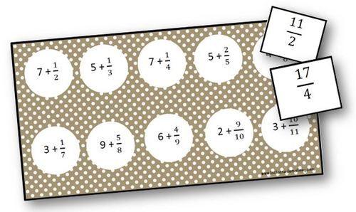 Loto décomposition de fractions