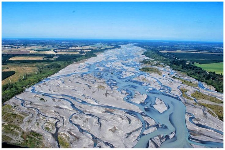 Cool Braided River 2016