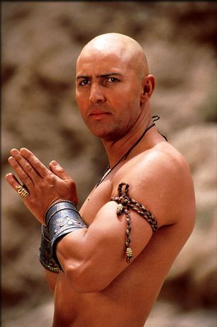 Arnold Vosloo plays the High Priest Imhotep - The Mummy ! Total movie crush!