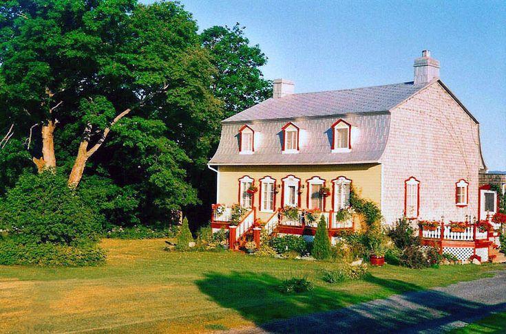 Vieille maison de l Ile d'Orleans - Ile d Orleans, Quebec