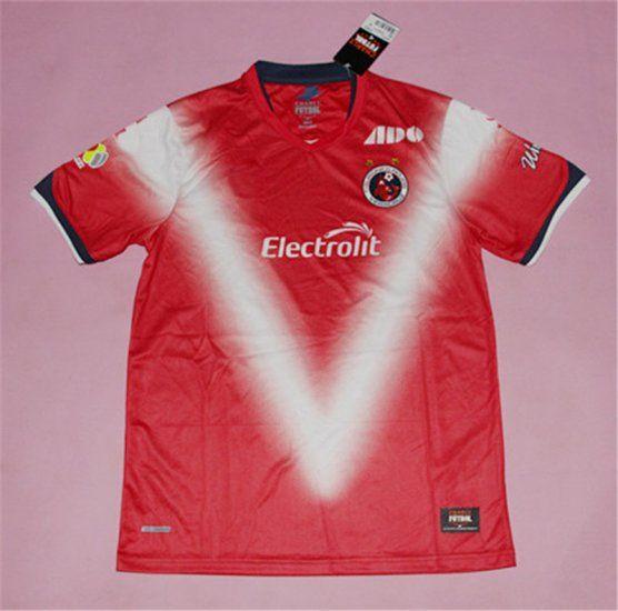club deportivo tiburones rojos de veracruz 1718 season home shirt 2017 jersey