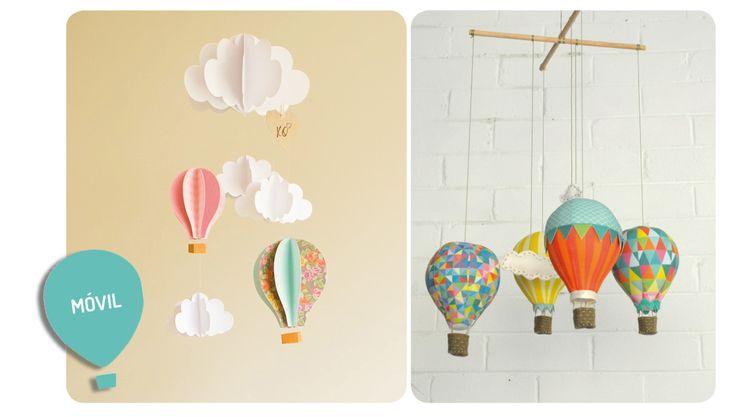 DIY-decoración con globo http://idoproyect.com/blog/patrones-que-nos-inspiran-globos-aerostaticos/