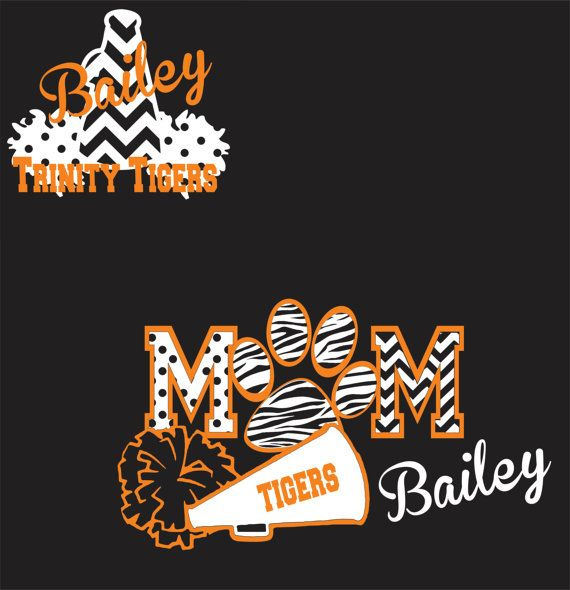 tigers cheer mom and cheerleader shirt would love this in maroon