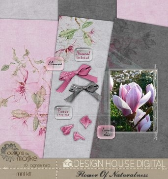 Flower Of Naturalness - Page Kit  By Agnes Biro