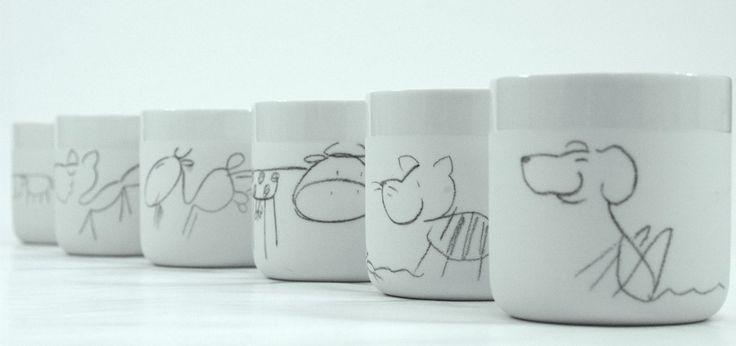 Johanna Hitzler | Keramik, Becher, Tiermotiv, Keramikerin, Designerin | stilhaus-magazin