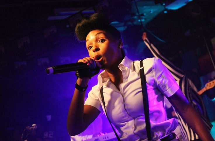 Janelle Monae woos the crowd during her performance at Arthur's Day on Sept. 26 in Cork, Ireland