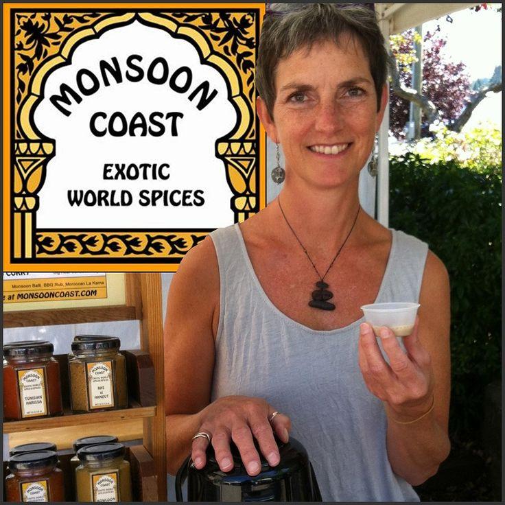 Exhibitor Profile: Monsoon Coast. Handmade exotic spices from Salt Spring Island, BC. #ssinthecity