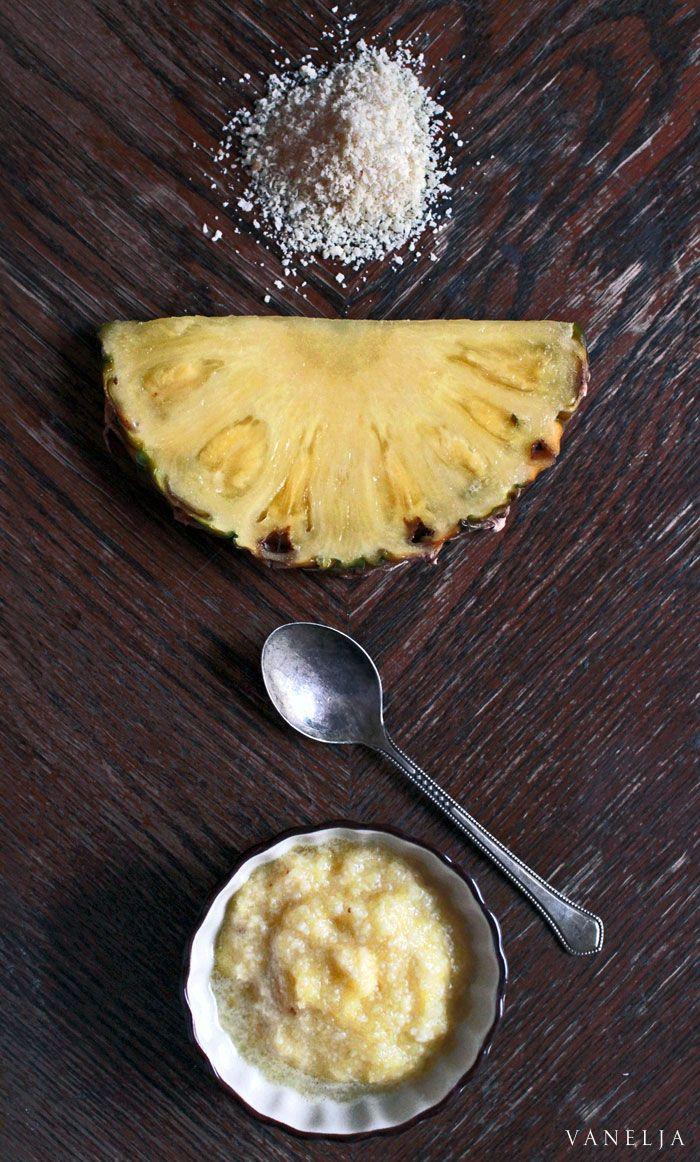 Pineapple/Almond Renewing Facial Mask | vanelja.com