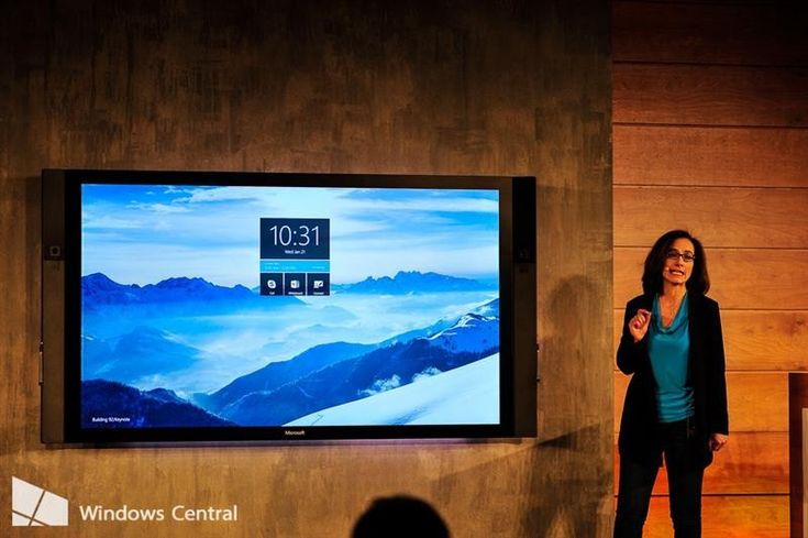 Microsoft Surface Hub is a new 84-inch 4K Windows 10 device | Microsoft used its Windows 10 press event today to show off an all new hardware device for Windows 10. The Microsoft Surface Hub is an 84-inch touchscreen device with a 4K display. The device would seem to be a new version of Microsoft's large Perceptive Pixel products but under the Surface branding ...