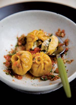 Nepalese Vegetable and Cheese Dumplings (Tarkari Momo) {recipe}