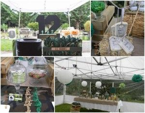 Army theme party decoration ideas army themed party for Army decoration ideas