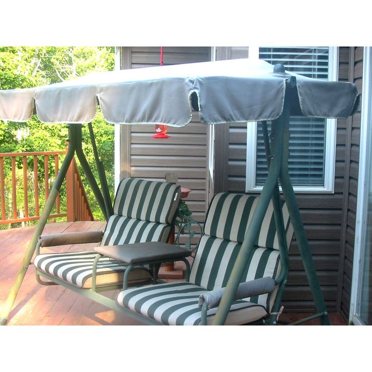 walmart 2 seater with arm rest swing replacement canopy - Multi Canopy Decor