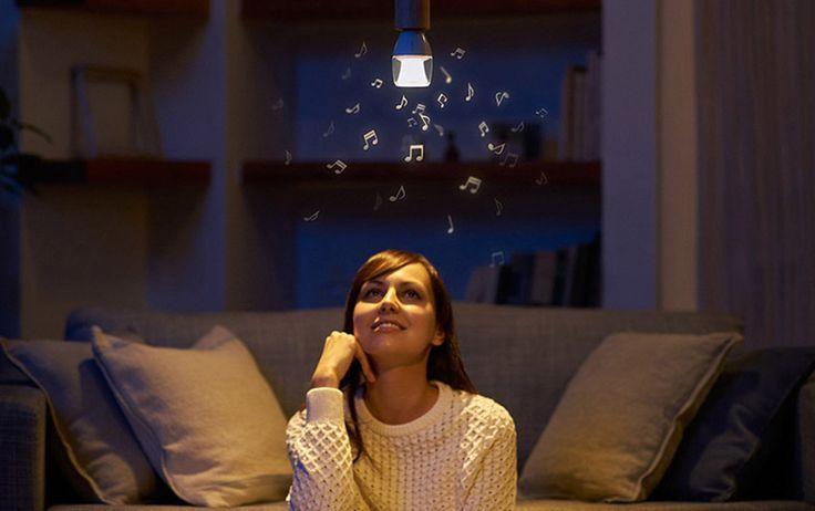 Sony LED 會唱歌的電燈泡!