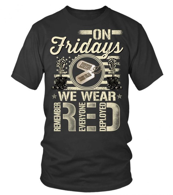 Houston police t shirt on fridays we wear red kentucky