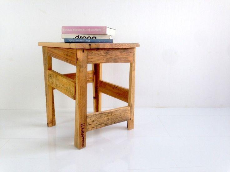 Hocker Aus Palettenholz // Stool Made From Paletts By ProduktWerft Via  DaWanda.com