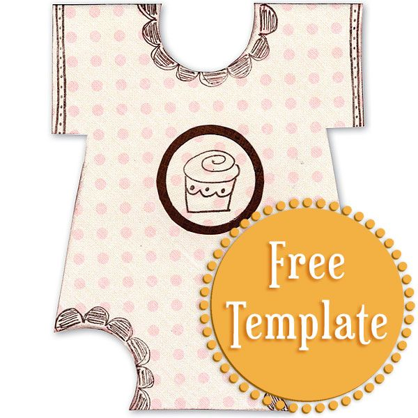 41 best Baby Shower images on Pinterest Birthdays, Creative and - onesie template