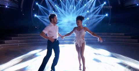 New trendy GIF/ Giphy. dancing dancing with the stars abc dwts laurie hernandez. Let like/ repin/ follow @cutephonecases