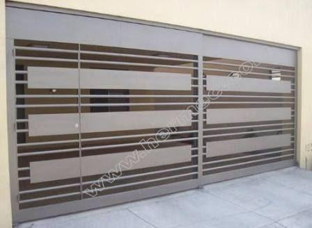 Resultado de imagen para rejas de aluminio modernas #fachadasminimalistasblancas