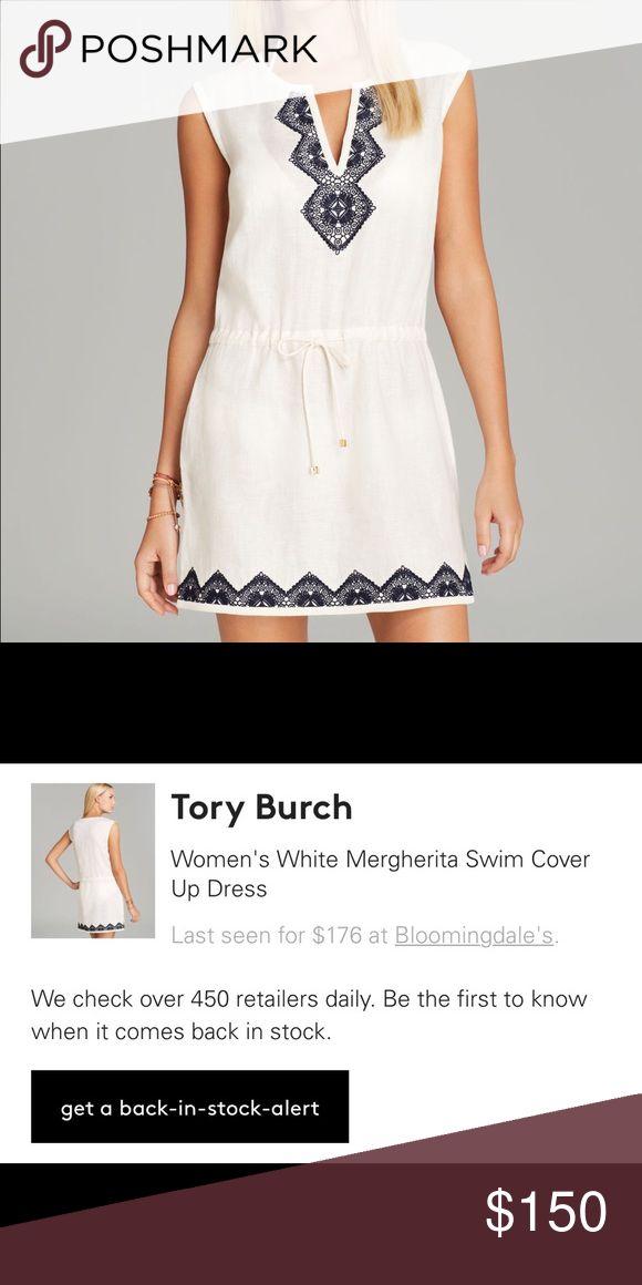 Tory Burch Mergherita Swim Cover Up Dress Like new. Sold out everywhere. Tory Burch Swim Coverups