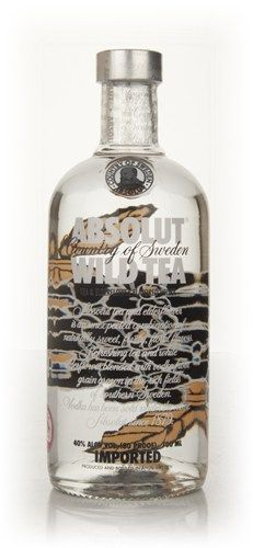 Absolut Wild Tea - Master of Malt. Oolong tea and elderflowers.