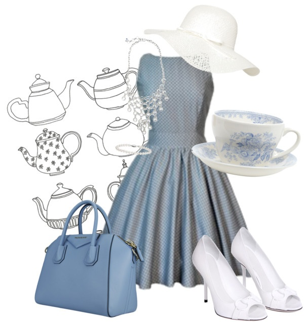 """Afternoon Tea #2"" by respevensie ❤ liked on Polyvore"