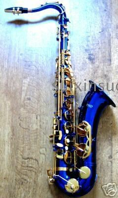 I'm such a fool for sax music. How cool would the blues sound from a blue sax?