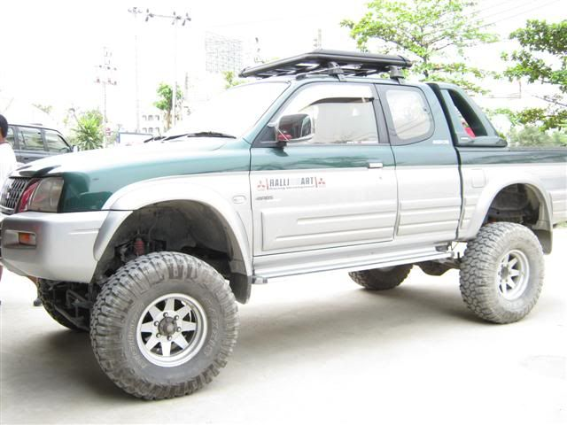 Mitsubishi L200 4x4 Btv Suspension 7 Lift Kit Top Of The Range New Mitsubishi L200 4x4 L200 4x4 Lift Kits