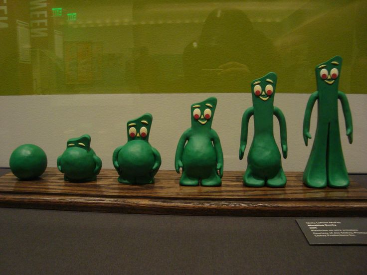 Gumby, stop motion