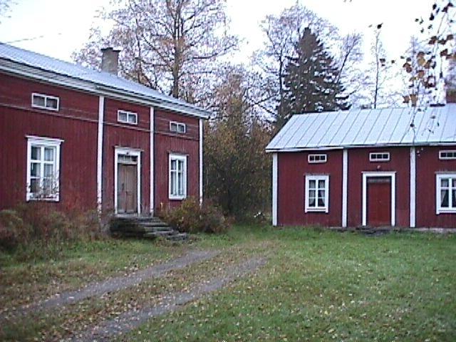 Kangas' old houses, Kälviä, Fi 1700 century
