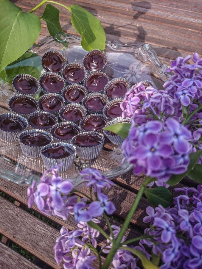 Kirschlikör Pralinen | Krümmelchaos