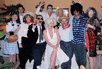 """Celebrity Celebrations"" This mystery is perfect for Halloween, New Years Eve parties and other large parties. It is very flexible and caters for 8 to 100 guests. The larger versions are interactive - where you obtain information by talking to other guests rather than reading out clues to the whole group. You can break the party up and make it a musical soiree by having the celebrities mime or sing one of their hit songs each. Kits start at $29.95 US."