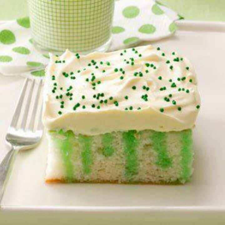St Patrick's Day Jello Desserts