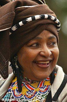 winnie mandela | Winnie Madikizela-Mandela Smile