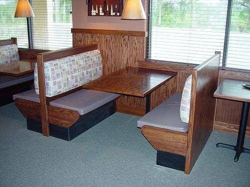 AMC Restaurant Booths, Tables, Furniture