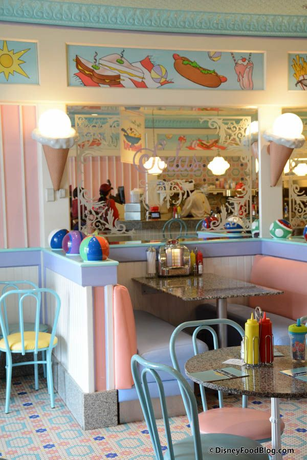 To go - Beaches and Cream restaurant at Disney Boardwalk