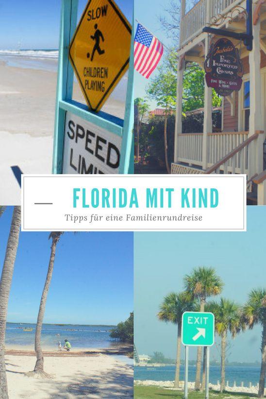 Als wir diese Reise nach Florida machten, war mein Kleiner noch im Bauch und der Große so alt wie der Kleine heute. Wir wollten mitten im trüben norddeutschen Winter einfach nur in die Sonne. Kinde…