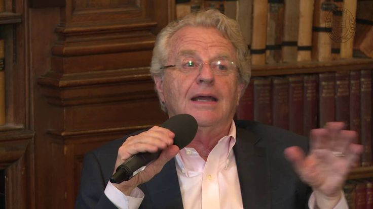 Jerry Springer   Full Address and  Q&A   Oxford Union