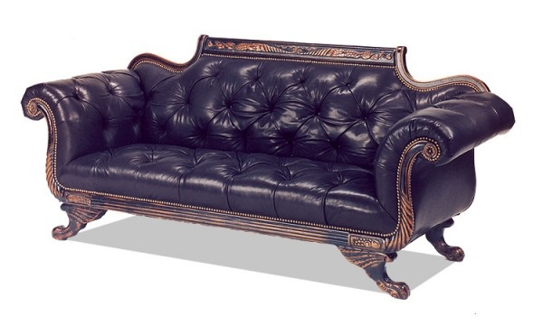 Biedermeier Style Oht Sofa Traditional Decorating Pinterest Study