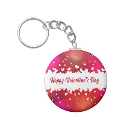Lovely Happy Valentine S Day Hearts Keychain