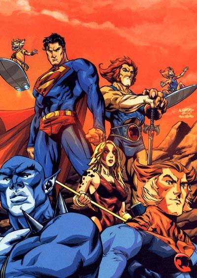 Superman and The Thundercats