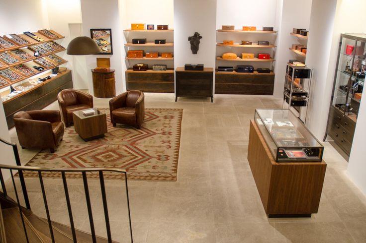 basement in  Zechbauer Cigar Shop