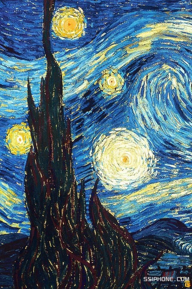 #vangogh #vincentvangogh #starrynight