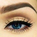 tesettürlü kadınlar için makyaj önerileri siyah eyeliner