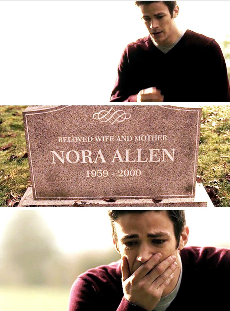 They say that his mother was killed when he was 11, and here it says that she died in 2000, meaning that Barry Allen was born in 1989. Grant Gustin (aka-the flash-aka-Barry Allen) was born in 1990. Does this mean Barry is a year older than grant?