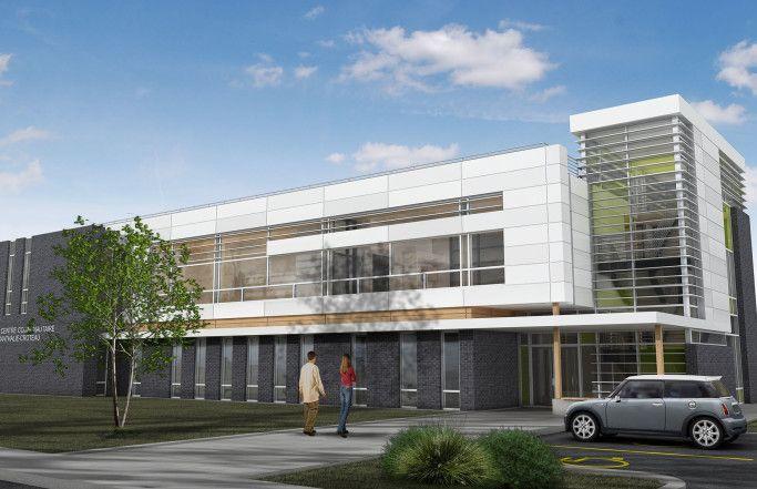 Centre Communautaire Nathalie-Croteau -concept- Groupe Leclerc Architecture & Design