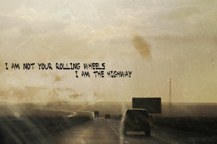 Audioslave - I am the Highway (one of my all time favorite songs)